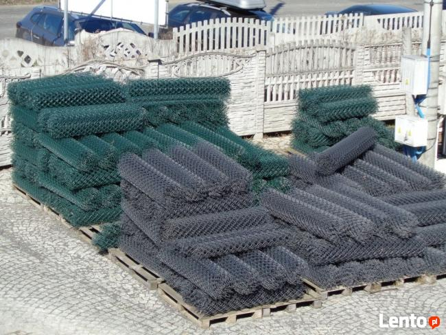 Kompletne ogrodzenie z siatki plecionej - PRODUCENT