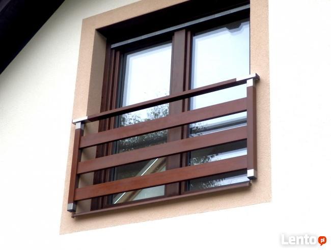 Balkon Francuski Balustrada Okienna Nowoczesna Barierka Nier
