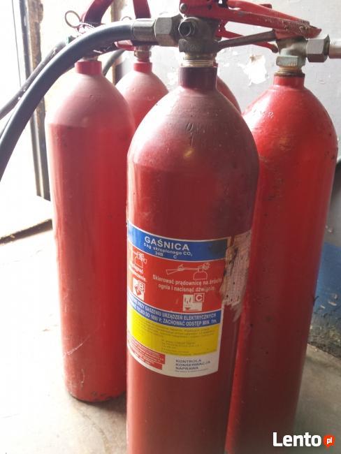 Skup gaśnic i butli gazów technicznych CO2 i inne