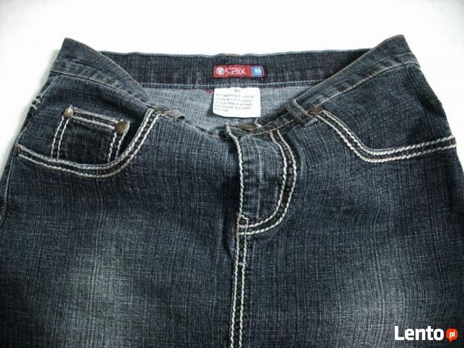 Saix Dżinsowa spódnica Ołówkowa 34 XS j Nowa