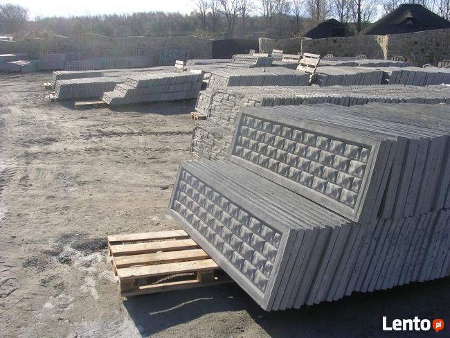 Producent ogrodzeń betonowych (ponad 40 wzorów)