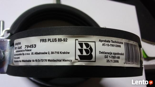 Obejma FISCHER FRS PLUS 87-92mm z gwintem M8-M10