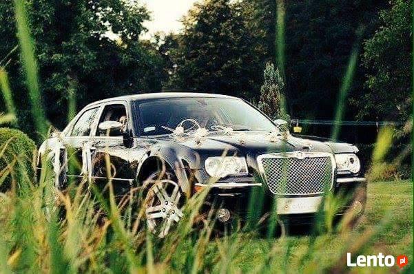 Auto do ślubu Chrysler 300C wynajem cena 400zŁ Kalisz Ostrów