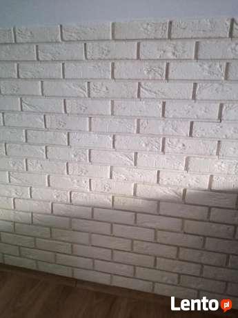 kamien gipsowy cegła biała z gipsu