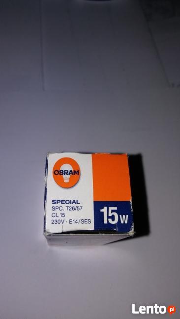 Żarówka do lodówki Special E14 15W 230V 110lm OSRAM