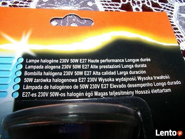 Żarówka halogenowa E27/50W/230V