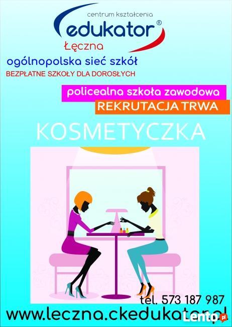 Technik usług kosmetycznych CK Edukator Łęczna