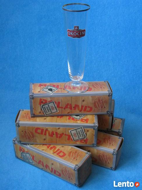 Pokal Okocim do piwa - komplet 6 sztuk kielich puchar