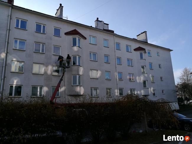Ekologiczne mycie budynków - środkami Isokor Fasada