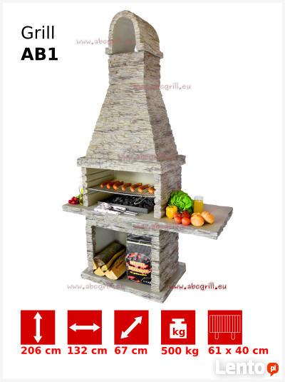 WYPRZEDAŻ Grill Ogrodowy Betonowy AB1
