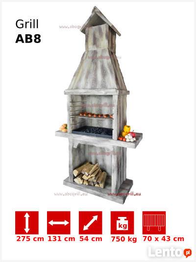 Grill ogrodowy betonowy AB8