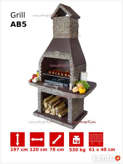 WYPRZEDAŻ Grill Ogrodowy Betonowy AB5