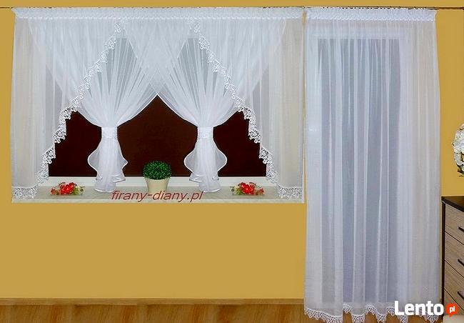 Firanki na okno balkonowe, balkon, taras, szycie firan, firany