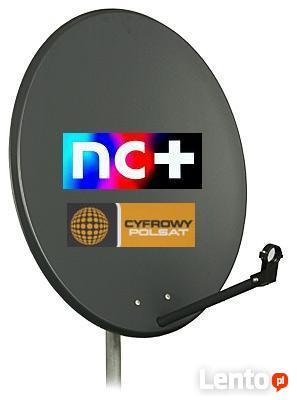 Montaż anten satelitarnych SAT, naziemna cyfrowa DVB-T