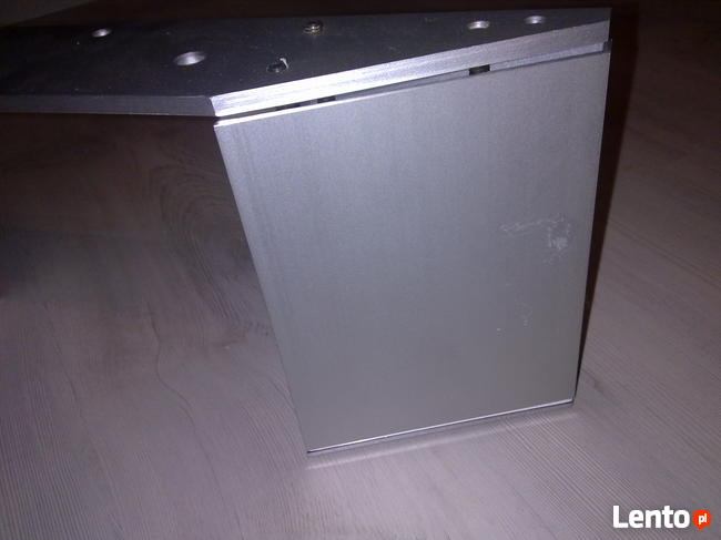 Cokół noga do szafki stolika aluminium anodowane