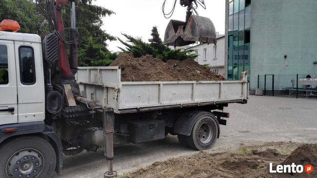 Wywóz: Gruzu, Ziemi, Cegły, betonu z załadunkiem