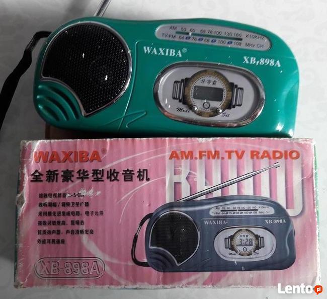 Radio FM AM na działkę wyjazd , bardzo podręczne na 2 bateri
