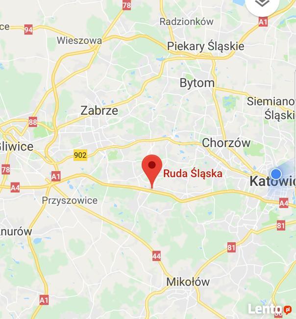Działka ( hale, magazyny ) Ruda Śląska