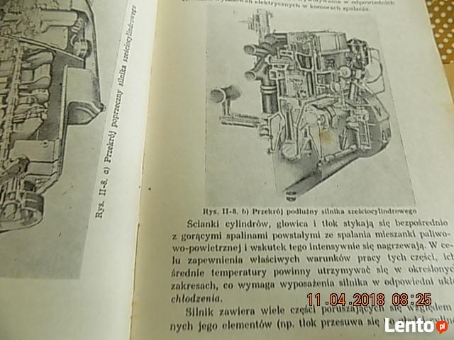 Stara Ksiazka ;Pojazdy Samochodowe;z 1969