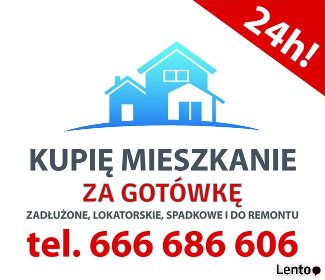 Kupie mieszkanie za GOTÓWKE ! Zadłużone, lokatorskie 24H!