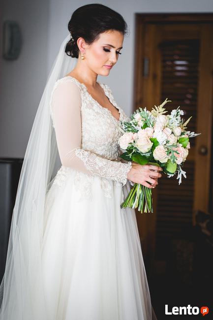 Piękna Suknia ślubna Zaprojektowana Przez Patrycję Pardykę Toruń