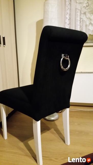 Krzesło z kołatką tapicerowane wygodne nowe producent nowe