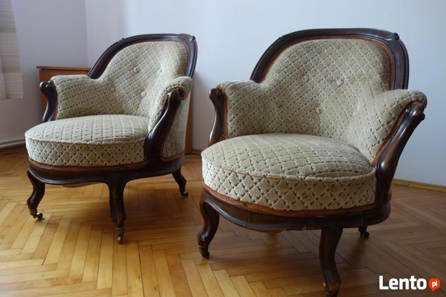 Fotele - unikatowe meble - stan rewelacyjny