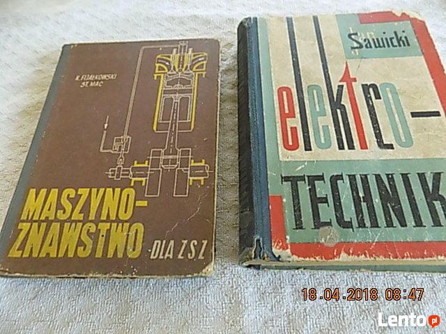 Ksiazki dla Zasadniczych Szkół Zawodowych z 1961r
