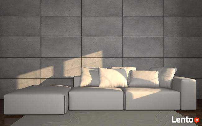 Beton architektoniczny - imitacja - panele TECTRA - ZICARO