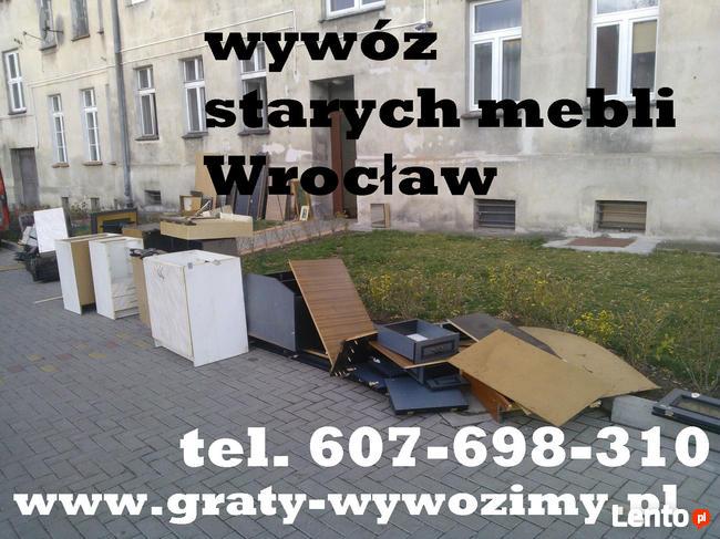 Wywóz,utylizacja starych mebli Wrocław,opróżnianie mieszkań