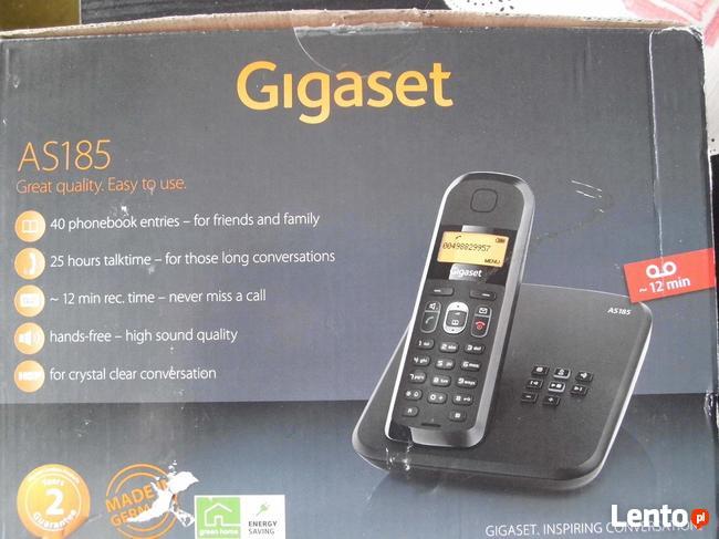 TELEFON Bezprzewodowy Gigaset AS185