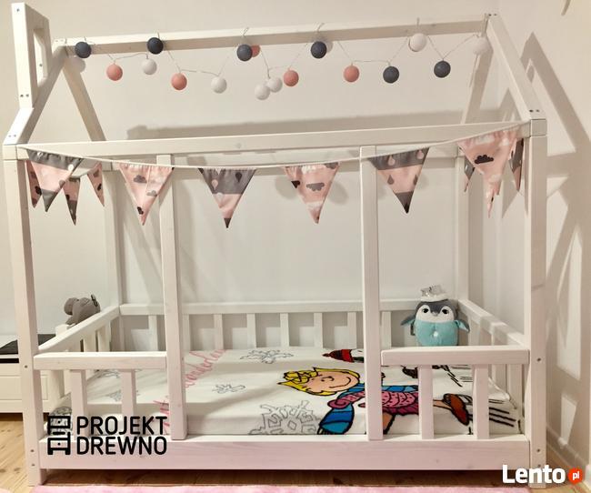 HIT ! Cudne łóżeczko w stylu skandynawskim