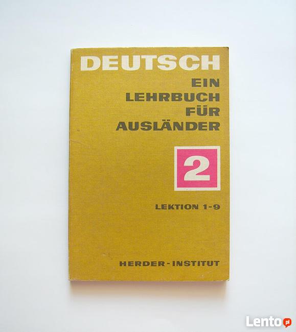 Deutsh ein lehrbuch fur auslander 2 lektion 1-9 Herder Ins