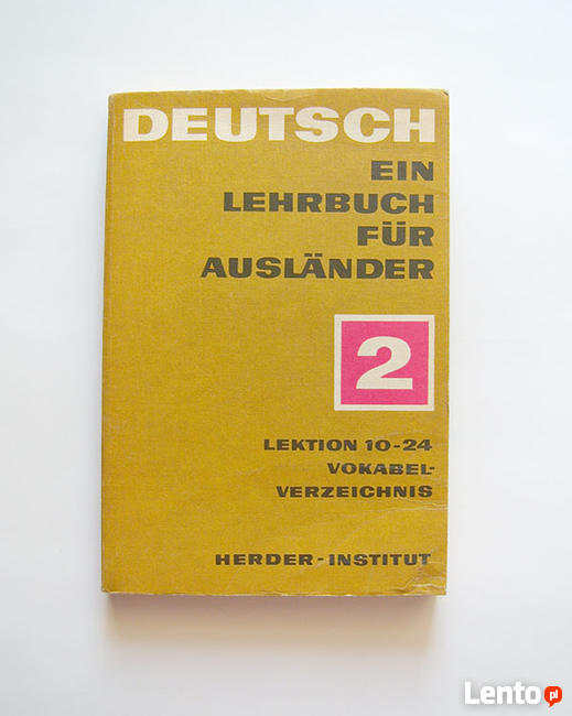 Deutsh ein lehrbuch fur auslander 2 lektion 10-24