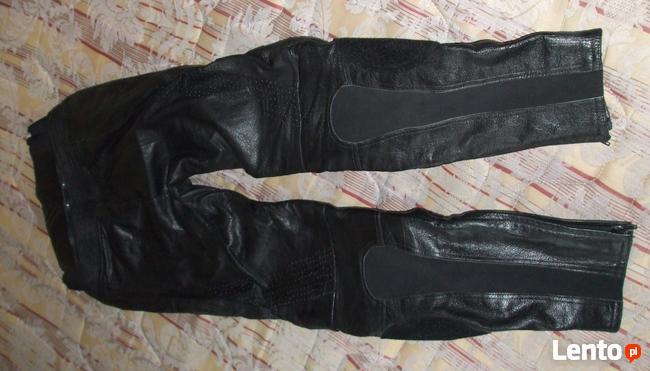Spodnie motocyklowe meskie Skora FRANK THOMAS