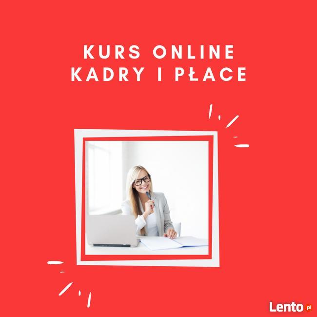 Kurs online: Kadry i Płace - CERTYFIKAT + ZAŚW. MEN