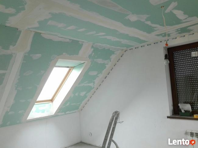 Kompleksowe wykonczenia wnętrz / remont/usługi budowlane