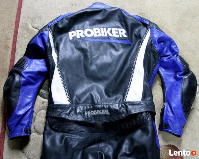 Kombinezon motocyklowy skóra Probiker 2-cześciowy rozm.58