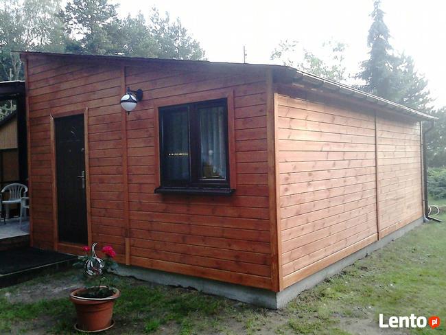 Drewniany domek na działkę 5x3m letniskowy na zamówienie