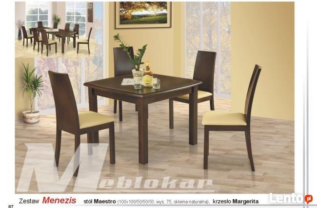 Stół MAESTRO i 4 Krzesła MARGERITA | Furnideco
