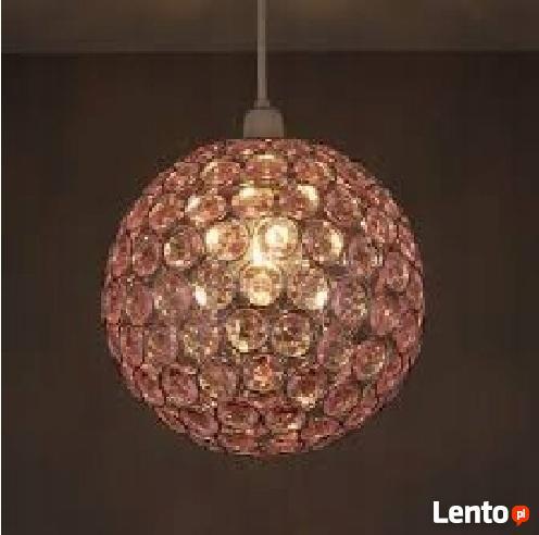 KLOSZ COLOURS ZOE RÓŻ żyrandol lampa okazja