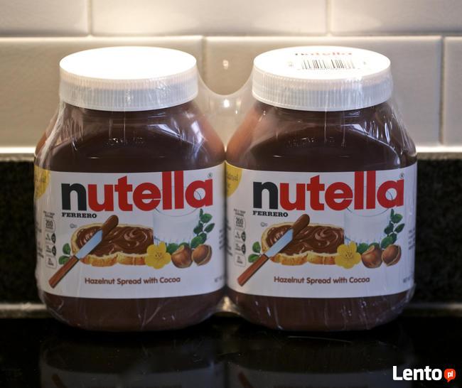 Nutella Chocolate 1kg, 750g, 630g, 400g, 350g Dostępny
