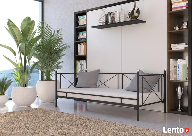 Łóżko metalowe sofa WZÓR 22 - producent Lak System
