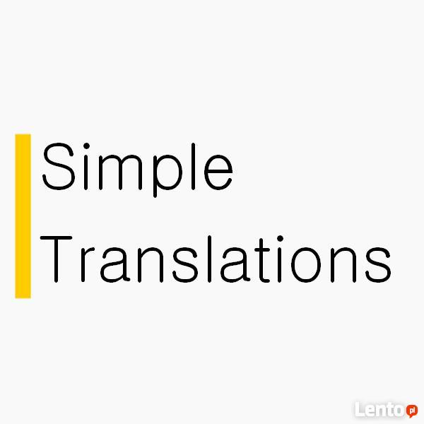 Usługi tłumaczeniowe: niemiecki, angielski, czeski, słowacki