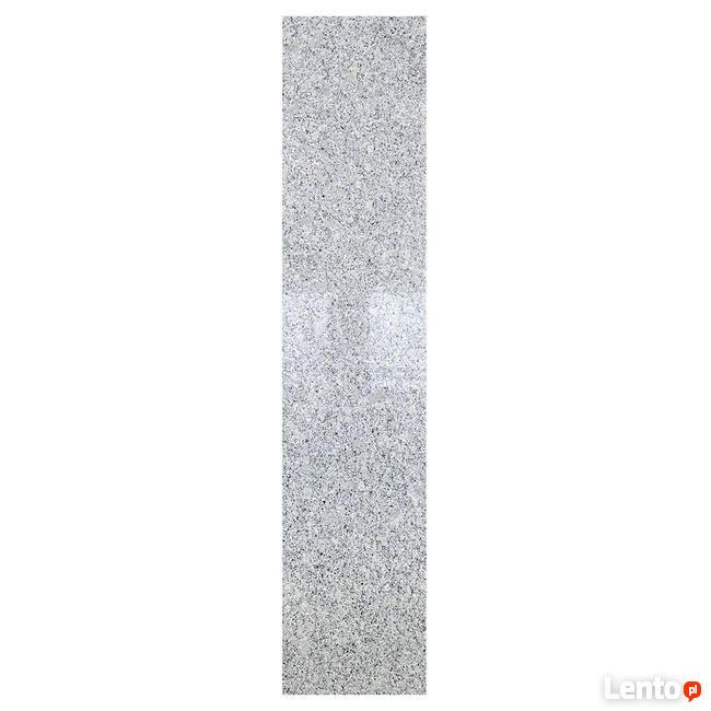Płytka schodowa granit G603 New BiancoCristal Poler 150x33x3