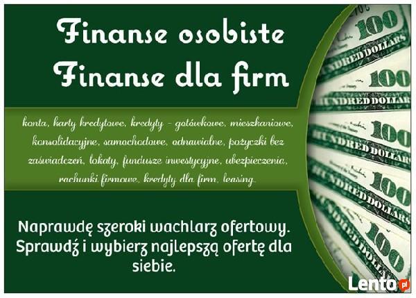 Kredyty, Lokaty, Ubezpieczenia, Konta - Najlepsza Oferta