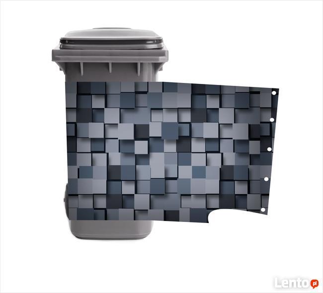Koszulka na kosz na śmieci, kubeł, pojemnik 120L 140L 240L