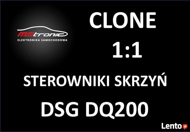 Klonowanie sterownika skrzyni DSG DQ200, 0AM
