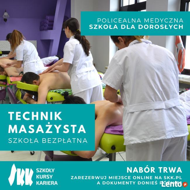 Technik masażysta – OSTANIE WOLNE MIEJSCA