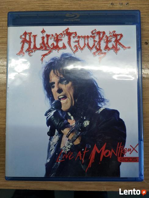 Sprzedam Blu Ray Koncert legendy Hard rock-a Alice Cooper